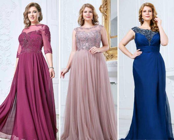 50001a5234a21b Плаття на пишну фігуру. Купити вечірню сукню великого розміру
